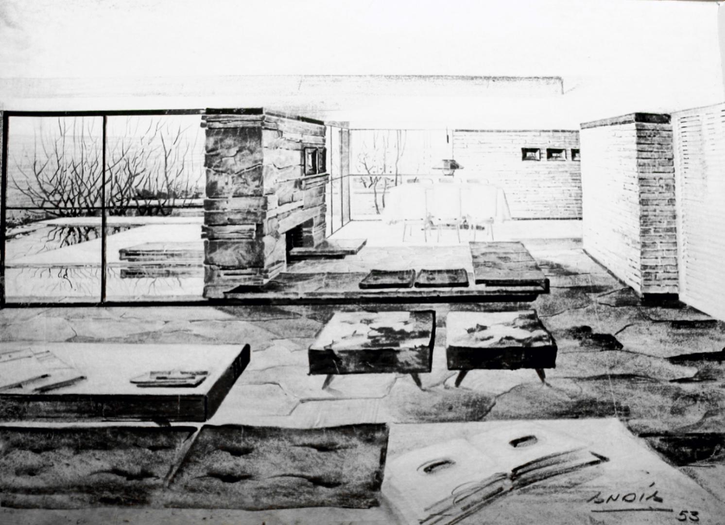 Croquis sketches gerardo andia arquitecto for Croquis de casas